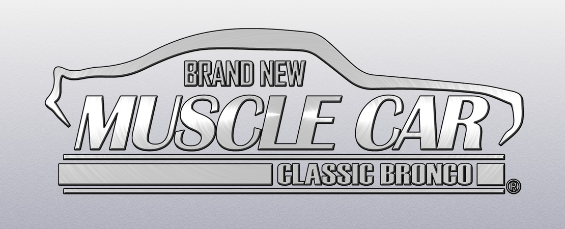 Brand New Muscle Car: Classic Bronco